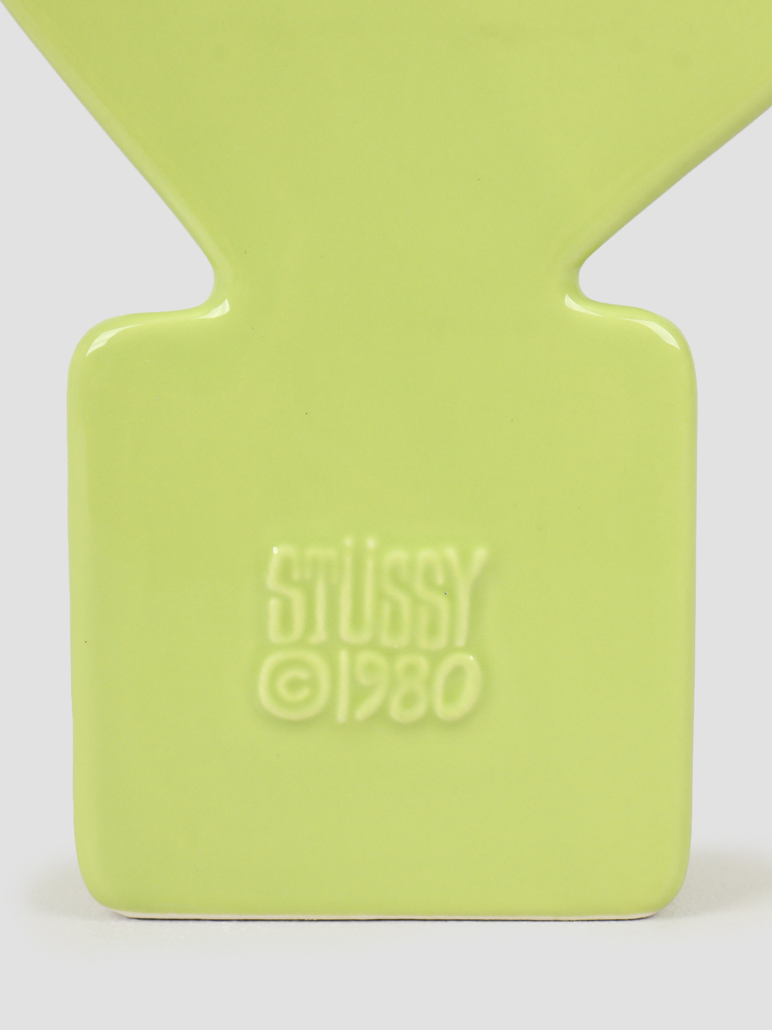 Stussy Stussy Dice Ceramic Vase Lime 138703