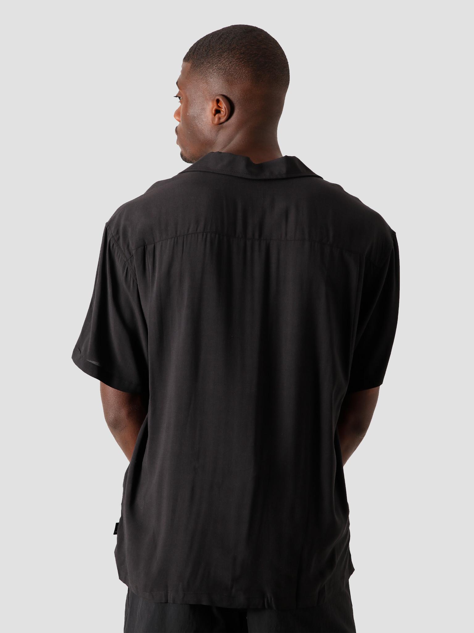 Stussy Stussy Pool Hall Shirt Black 1110119