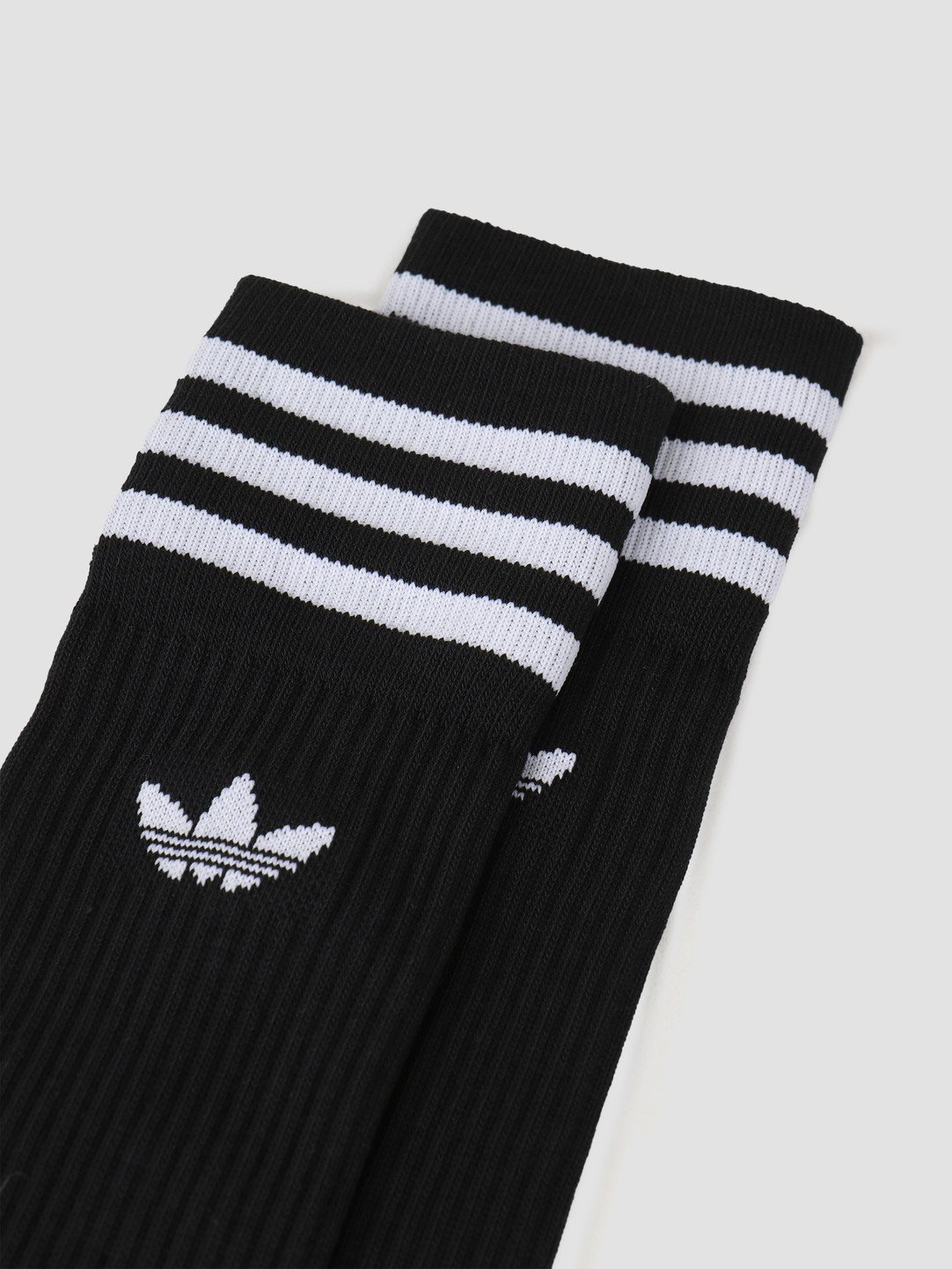 adidas adidas Solid Crew Sock Black White S21490