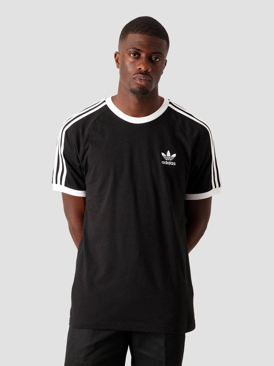 adidas 3-Stripes T-Shirt Black CW1202