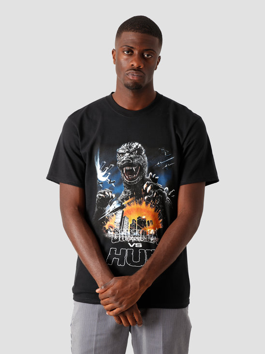 HUF Godzilla Tour T-Shirt Black TS01365