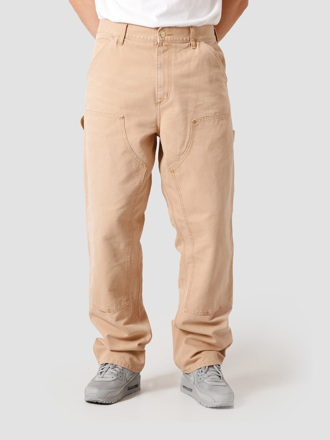 Carhartt WIP Carhartt WIP Double Knee Pant Dusty H Brown I029196-07E3K
