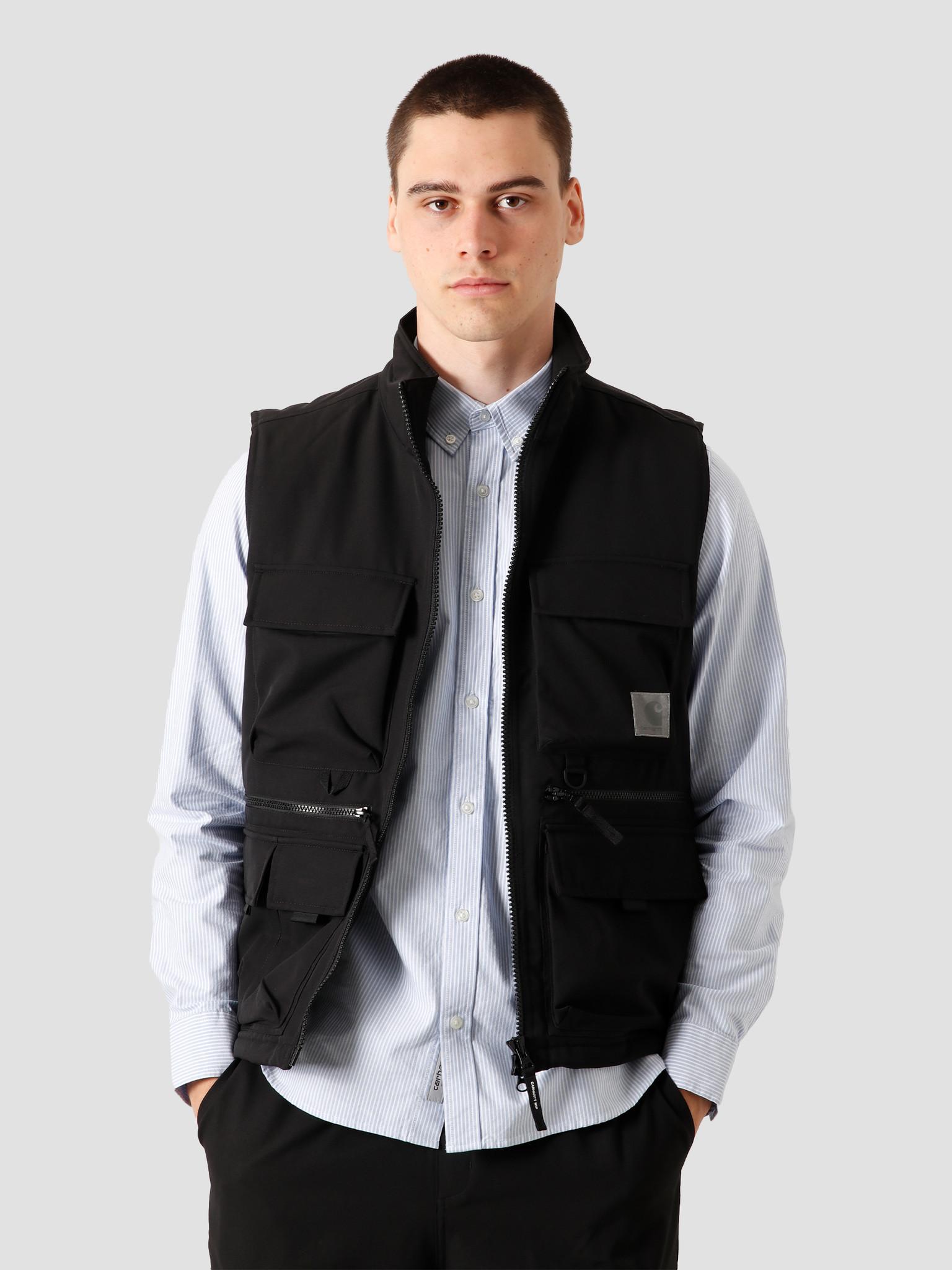 Carhartt WIP Carhartt WIP Colewood Vest Black I028382-8900