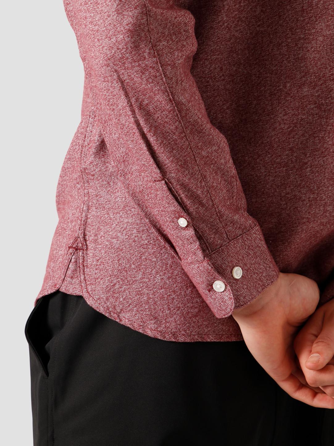 Carhartt WIP Carhartt WIP Longsleeve Corey Shirt Bordeaux I028224-JD00