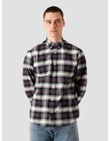 Carhartt WIP Carhartt WIP Steen Longsleeve Shirt Steen Check, Blue I028227-190