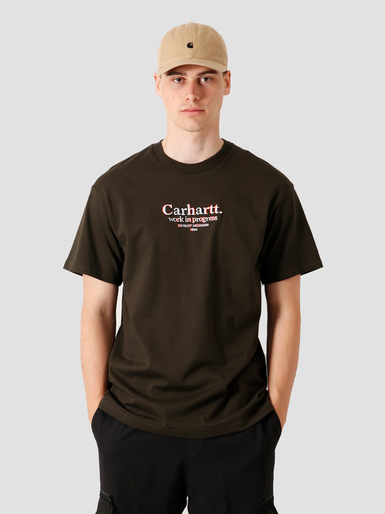 Carhartt WIP Commission T-Shirt Cypress I028458-6300