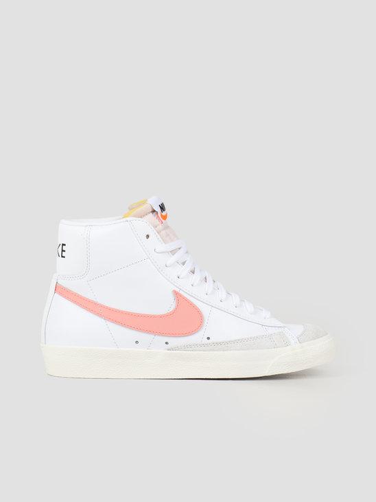 Nike W Blazer Mid '77 White Atomic Pink-White-Hyper Crimson CZ1055-110