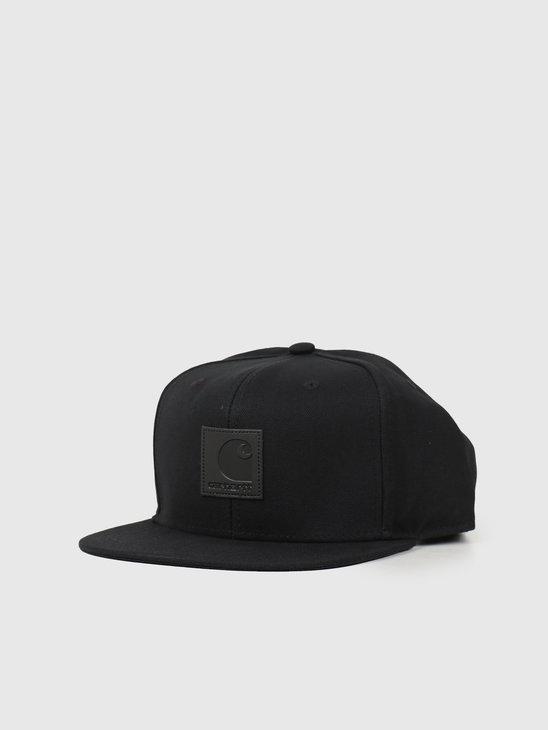 Carhartt WIP Logo Cap Black I023099