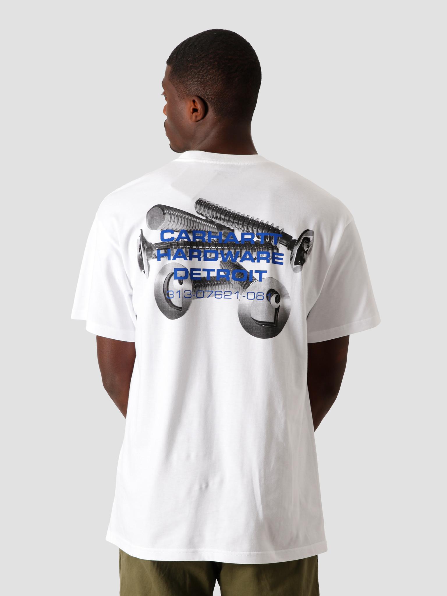 Carhartt WIP Carhartt WIP Screws T-Shirt White I028491-200