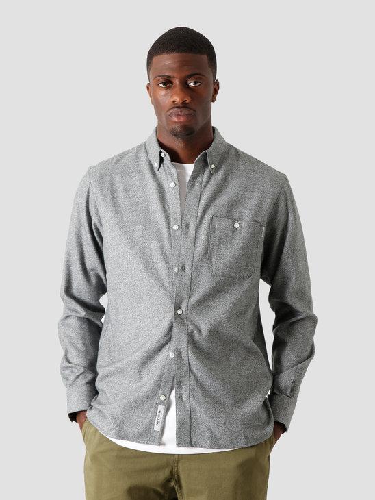 Carhartt WIP Longsleeve Corey Shirt Dark Teal I028224-0F200