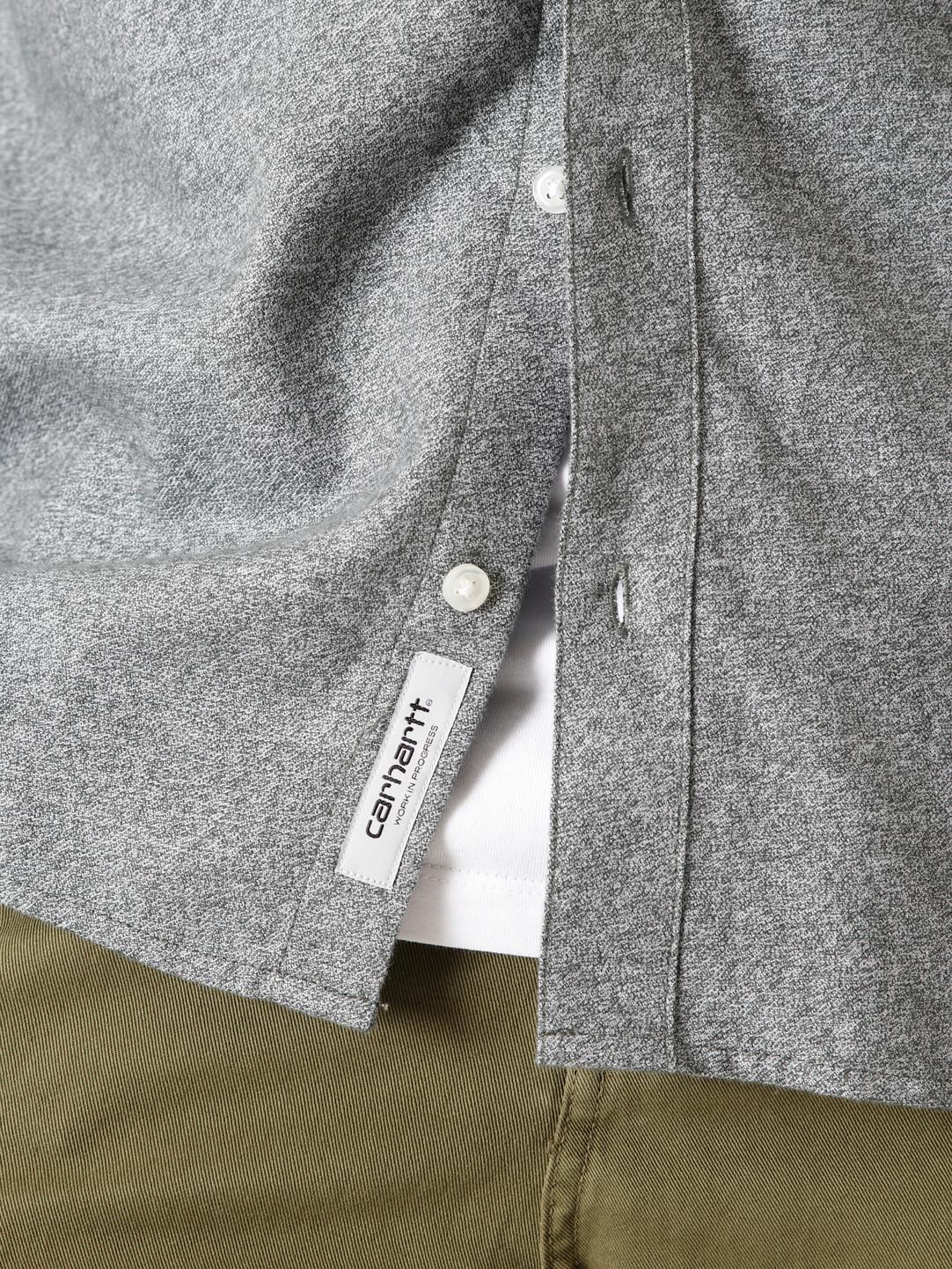 Carhartt WIP Carhartt WIP Longsleeve Corey Shirt Dark Teal I028224-0F200