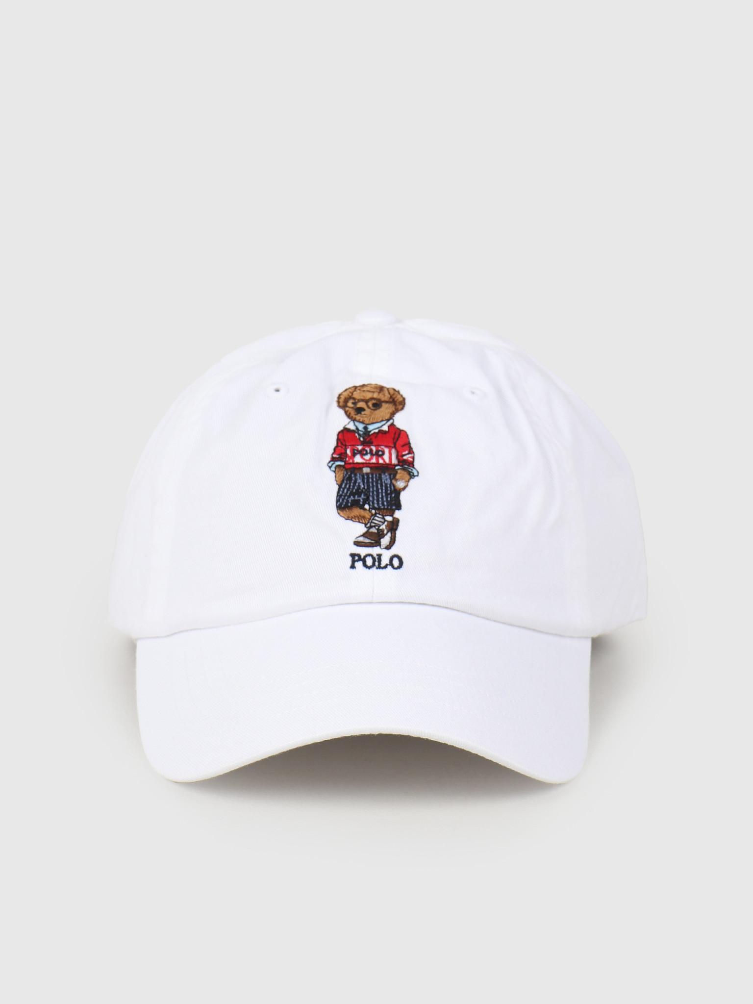 Polo Ralph Lauren Polo Ralph Lauren Classic Sport Cap With Bear White 710798508001