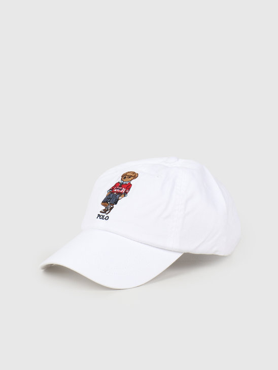 Polo Ralph Lauren Classic Sport Cap With Bear White 710798508001