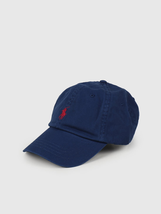 Polo Ralph Lauren Classic Sport Cap With Small PP Holiday SaPPhire 710673213053