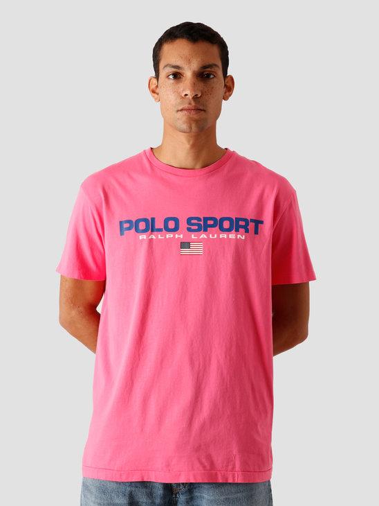 Polo Ralph Lauren 26-1'S Jersey T-Shirt Blaze Knockout Pink 710800906004