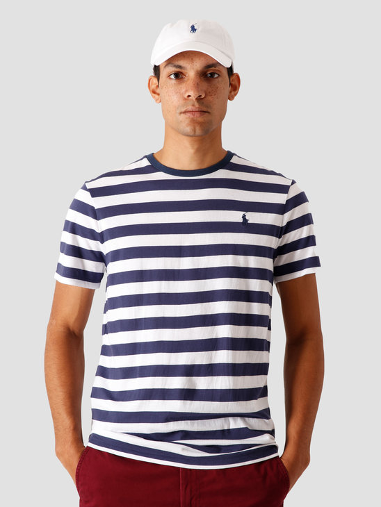 Polo Ralph Lauren 26-1'S Jersey T-Shirt Boathouse Navy-White 710803479004