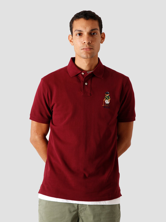 Polo Ralph Lauren Basic Mesh T-Shirt Classic Wine 710803538003