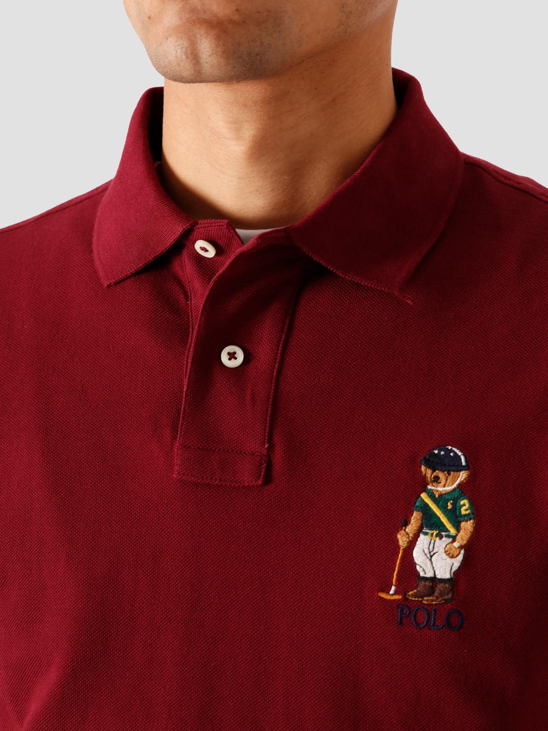 Polo Ralph Lauren Polo Ralph Lauren Basic Mesh T-Shirt Classic Wine 710803538003