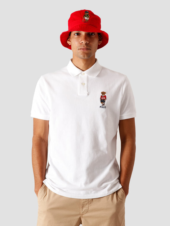 Polo Ralph Lauren Basic Mesh T-Shirt White 710803538002