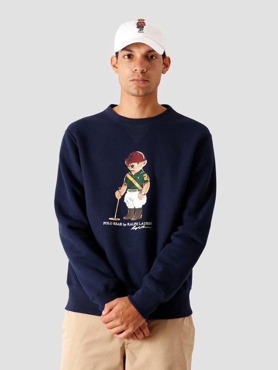 Polo Ralph Lauren Magic Fleece Knitted Sweater Cruise Navy 710800496001