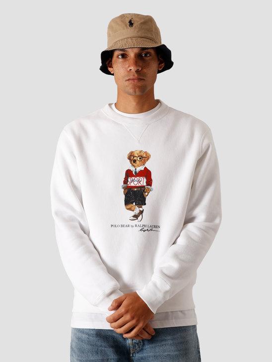 Polo Ralph Lauren Magic Fleece Knitted Sweater White 710800496002