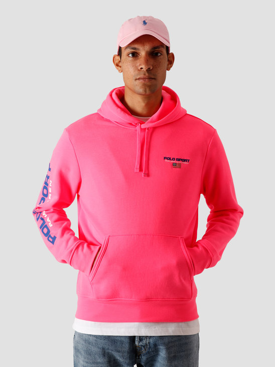 Polo Ralph Lauren Neon Fleece Knit Blaze Knockout Pink 710800486004