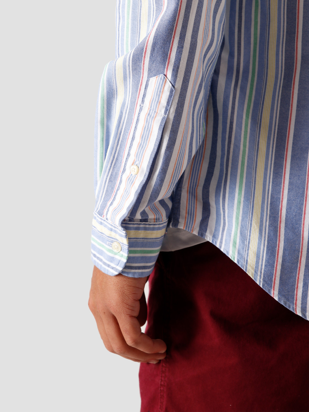Polo Ralph Lauren Polo Ralph Lauren Oxford Sport Shirt 4651 Run On Multi 710805531004