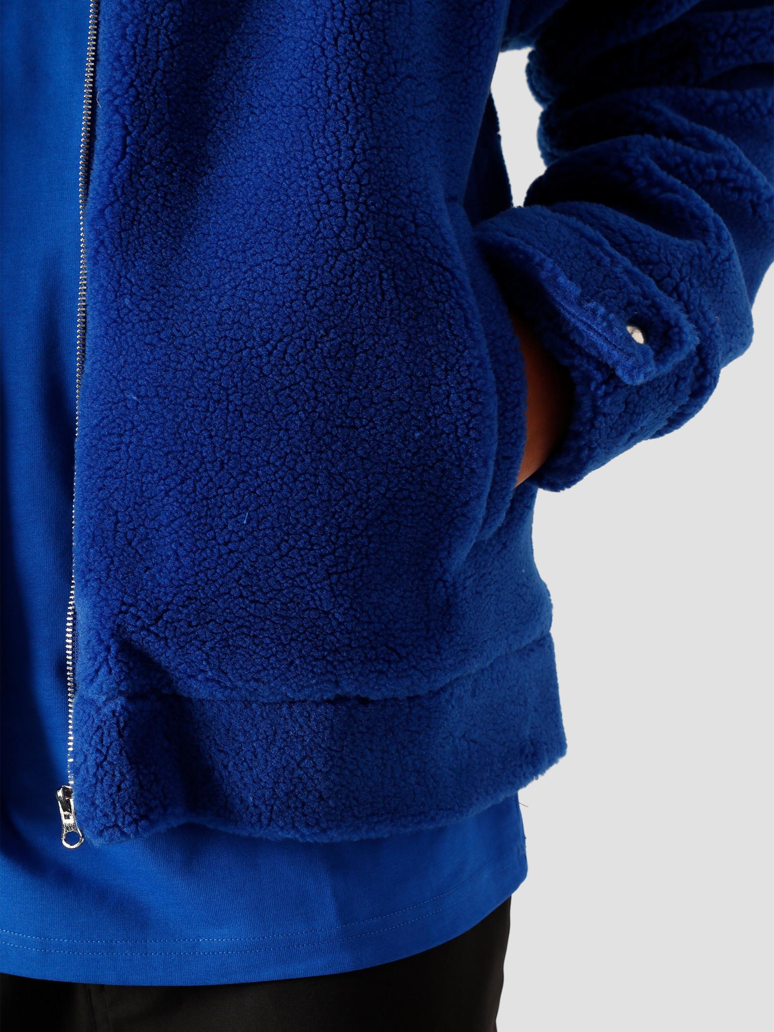 Arte Antwerp Arte Antwerp Jake Sherpa Jacket Jacket Royal Blue AW20-064J