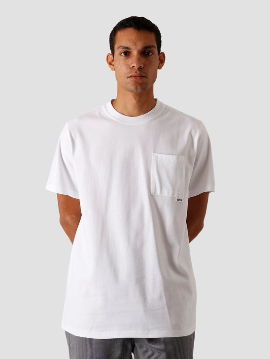 Arte Antwerp Tibo Pocket T-Shirt White AW20-004T