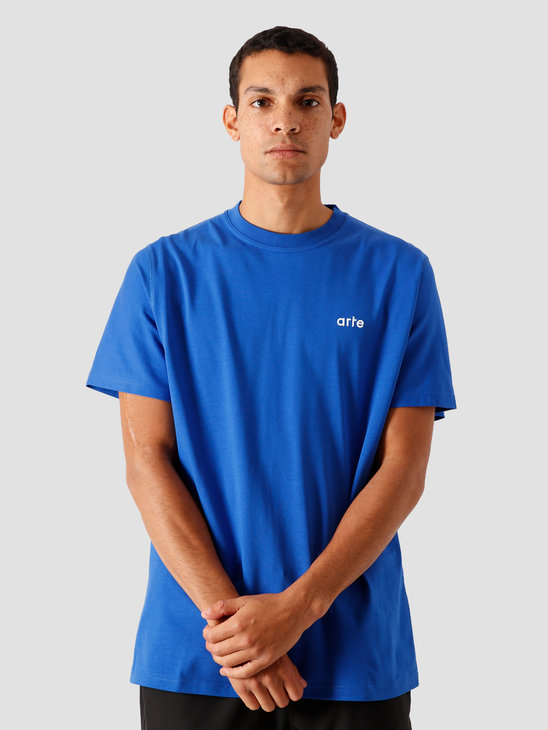 Arte Antwerp Toby T-Shirt Royal Blue AW20-066T