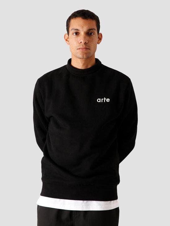 Arte Antwerp Carter Sweater Black AW20-050C