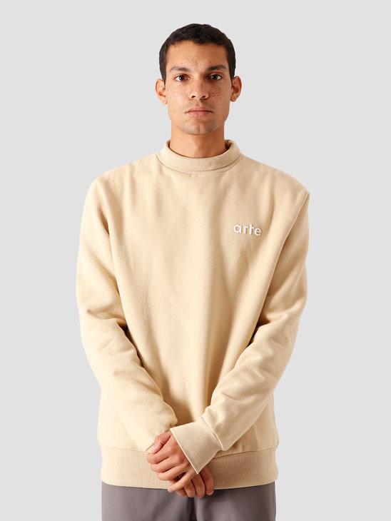 Arte Antwerp Carter Sweater Creme AW20-050C