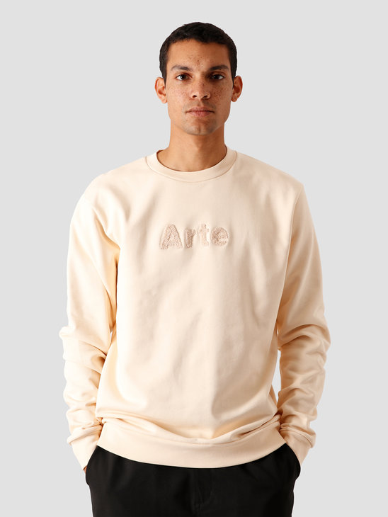 Arte Antwerp Chris Sweater Creme AW20-032C