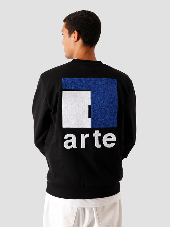 Arte Antwerp Chuck A Back Sweater Black AW20-045C