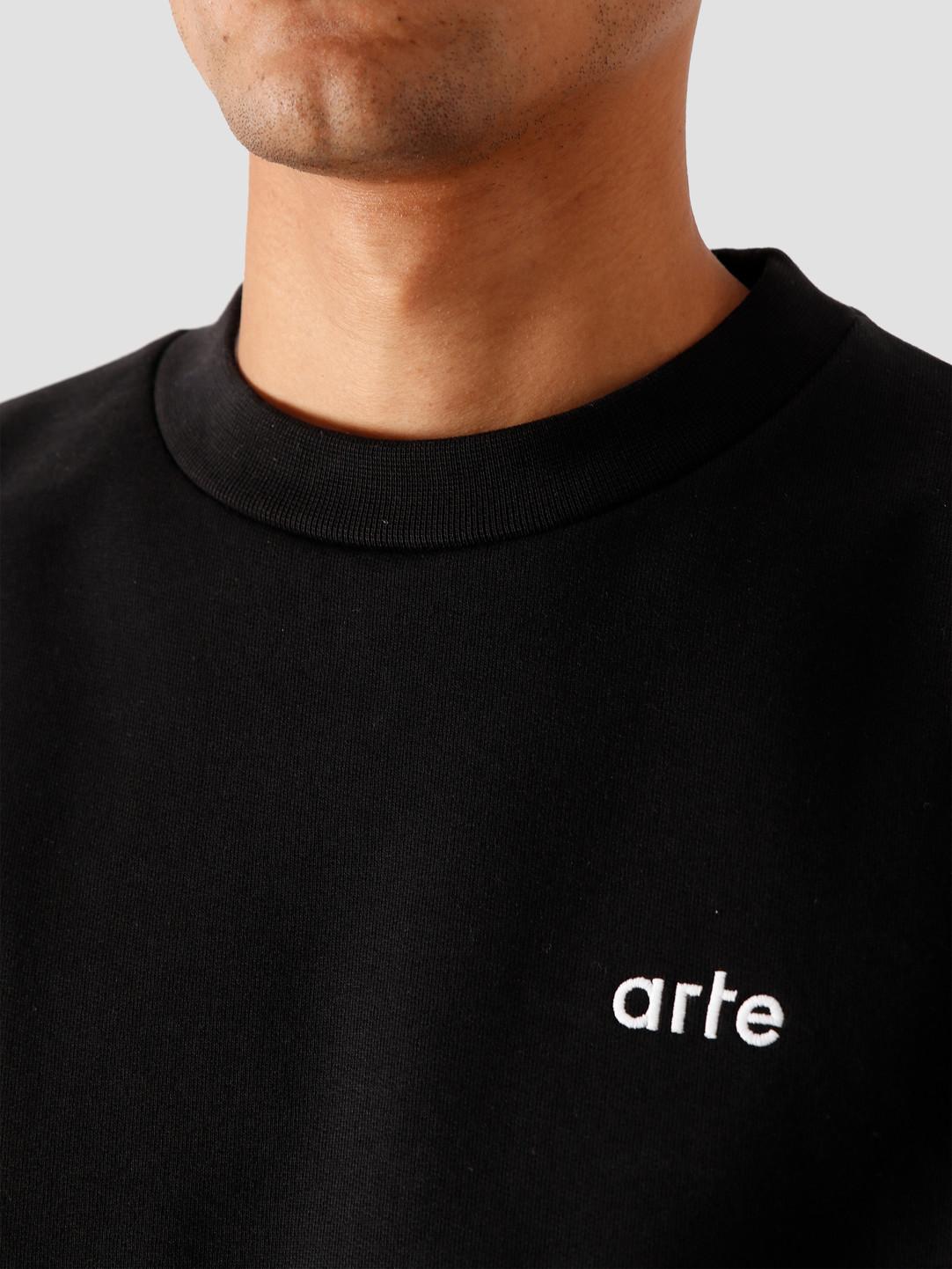 Arte Antwerp Arte Antwerp Chuck Sweater Black AW20-044C