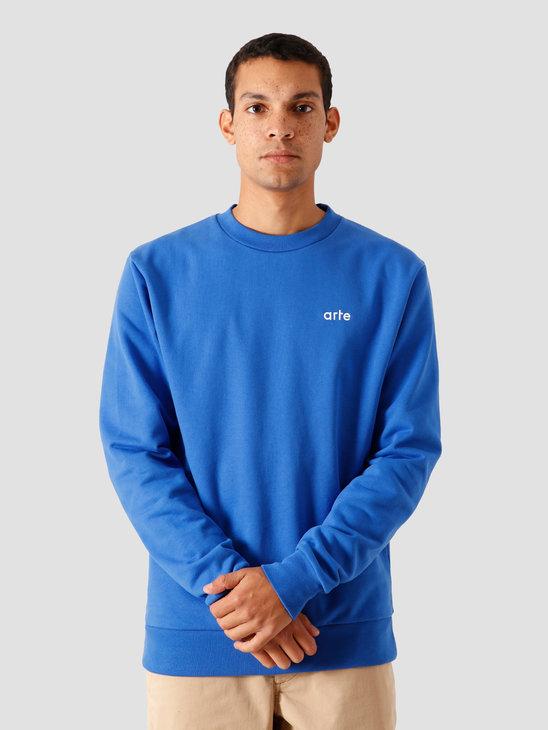 Arte Antwerp Chuck Sweater Royal Blue AW20-044C