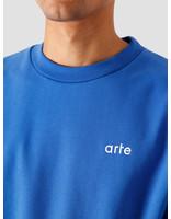 Arte Antwerp Arte Antwerp Chuck Sweater Royal Blue AW20-044C
