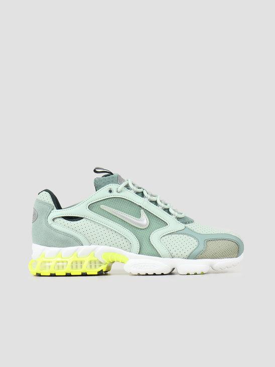 Nike Air Zoom Spiridon Cage 2 Pistachio Frost Metallic Silver CW5376-301