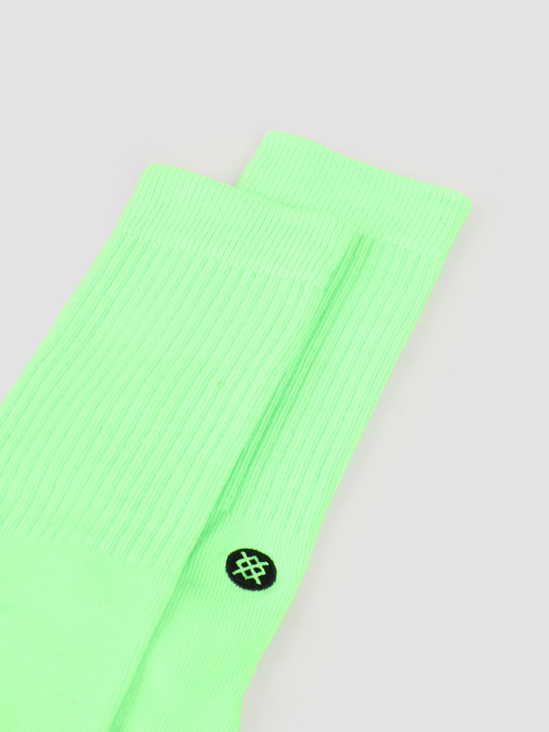Stance Stance Icon Classic Crew Sock Florescent Pink M311D14ICO
