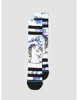 Stance Stance Partys Over Crew Sock White A556B20PAR