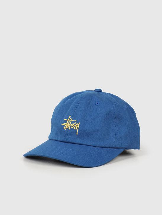 Stussy Stock Low Pro Cap Blue 131941