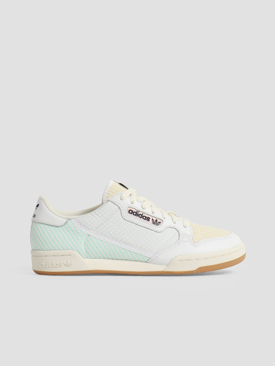 adidas Continental 80 Footwear White Footwear White Easy Yellow EG7922