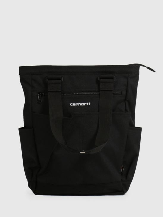 Carhartt WIP Payton Kit Bag Black Black White I028384-8990