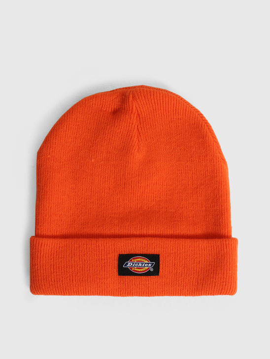 Dickies Gibsland Beanie Bright Orange DK0A4X7KBGO1