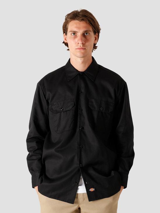Dickies Longsleeve Work Shirt Black DK000574BLK1