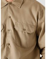 Dickies Dickies Longsleeve Work Shirt Khaki DK000574KHK1
