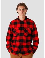 Dickies Dickies Sacramento Relaxed Longsleeve Shirt Red DK0A4X8NRDX1