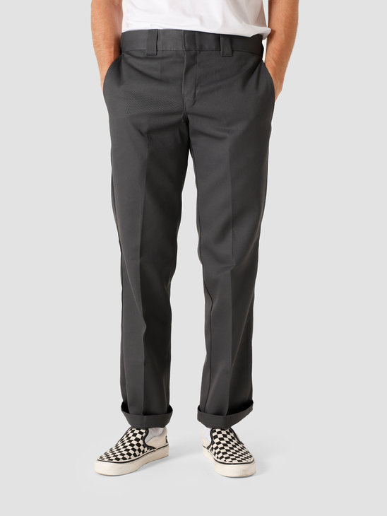 Dickies S/Stght Work Pant Charcoal Grey DK0WP873CH01