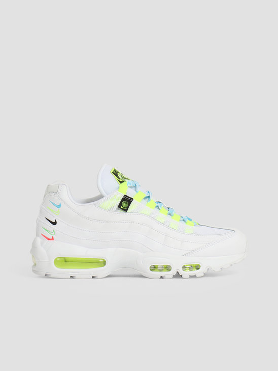 Nike W Air Max 95 Se Ww White White-Volt-Blue Fury CV9030-100