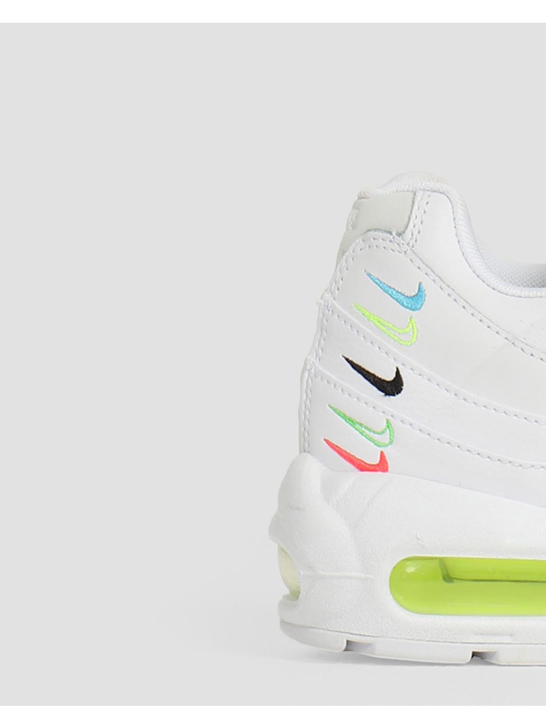 Nike Nike W Air Max 95 Se Ww White White-Volt-Blue Fury CV9030-100